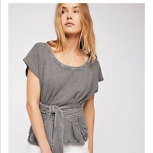 Free People One Wrap top! Army green